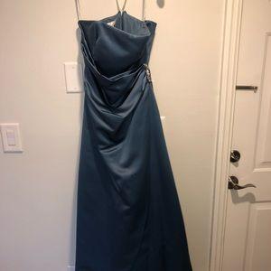 Blue Prom / Bridesmaid Dress